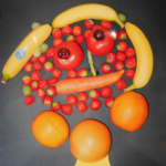 ISA Art competition fruit face