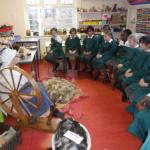 Spinning demonstration Lyonsdown