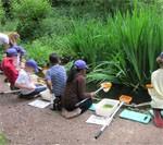 Lyonsdown visit Denis Bland Environmental centre