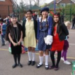 Lyonsdown History Day students