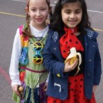 Lyonsdown History Day 80s dress up