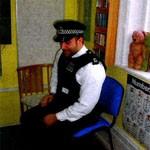 Lyonsdown School meets Police officer