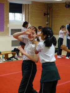 Year 6 self-defence